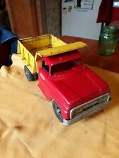 Vintage tonka metal dump trucks
