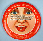 1920s Nature's Remedy Laxative Pills Celluloid Pocket Mirror Medical Advertising