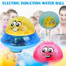 Children Electric Induction Spray Ball Light Bathroom Play Infant Water Bath Toy