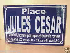 Jules cesar plate item history collection gift for fan deco original