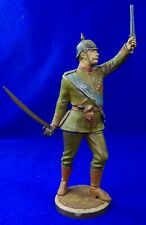 German Germany Wwi Ww1 R. Bellair & Co. Painted White Metal Officer's Figurine