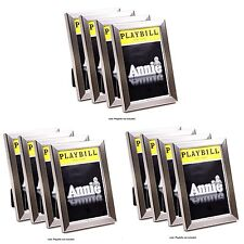 CreativePF- Stainless Steel Theatre Playbill Frame - Displays 8.5 by 5.5 inch Me
