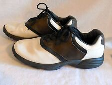 FOOT JOY brown saddle men GOLF SHOES black widow CLEATS size 10M #G181