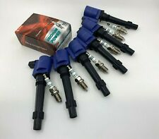 SNIPER HI-PERFORMANCE FALCON FPV BA BF FG XR6 TURBO IGNITION COILS + SPARK PLUGS