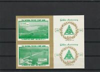 16th Nat. Postage Show Golden Anniversary Mint Never Hinged Stamp Sheet ref22582