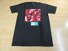 VINTAGE TRIUMVIR F#CK LOVE ST. VALENTINE'S DAY EDITION TEE SHIRT NEW BLACK S