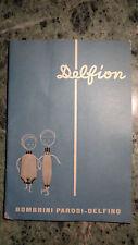 libretto pubblicitario DELFION IL FILATO DI QUALITà moda vestiti anni 50/60 A584