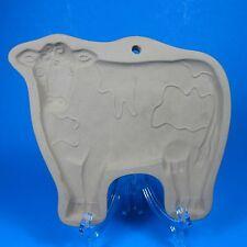 Brown Bag Cookie Art ELAINE'S COW Mold 1986 Hill Design