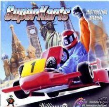 Super Karts SuperKarts for PC includes Booklet Instruction Manual (No Case) EC