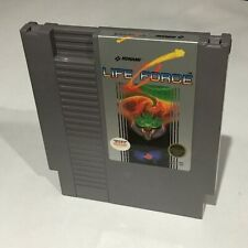 Life Force Nintendo NES Clean Tested Working