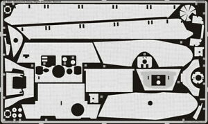 Eduard 35683 Photo-etched Zimmerit for 1/35 King Tiger Porsche Turret for Dragon