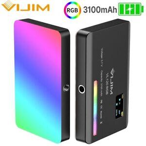 Ulanzi Vijim VL120 RGB CTT Full-color Led Video Light 2500-9000K Fill Light lamp
