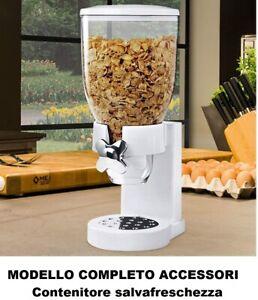 4 x 4 l contenitore e dispenser per cereali Set di 4 barattoli grandi con coperchio Hausfelder corn flakes