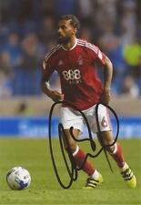 NOTTINGHAM FOREST: ARMAND TRAORE SIGNED 6x4 ACTION PHOTO+COA