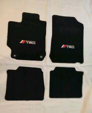 For 2012-2017 Toyota Camry  Floor Mats Black Carpets w/ TRD Emblem