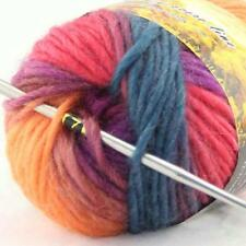 1skein X 50gr Hand Knitting Yarn Chunky Colorful Wool Scarves Shawls 01