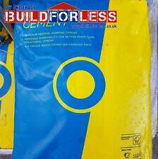 10 X Blue Circle Mastercrete Grey Cement 25kg (Plastic waterproof bag)