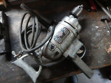 """VINTAGE MILLERS FALLS LARGE 1/2"""" SPADE HANDLE ELECTRIC DRILL"""