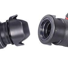 52mm Hard Tulip Reversible Lens Hood for NIKON D5000 D5100 D5200 D5300 D5500 D4S