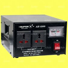 1500W Automatic AC Voltage Regulator Stabilizer Transformer for 220V/230V/240V