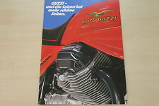 166172) Moto Guzzi - Modellprogramm - Prospekt 198?