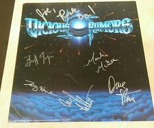 Vicious Rumors Autograph on flat with promo material Carl Albert Rip