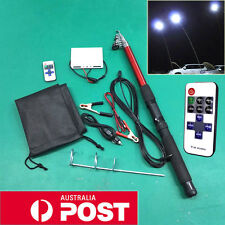 4.5M Portable Telescopic Camping Lamp Light Fishing Rod Car Repair LED Lantern