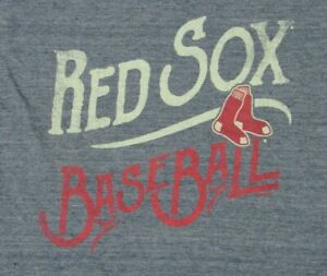 MLB Boston Red Sox Women's Short Sleeve V-Neck T-Shirt Size Small