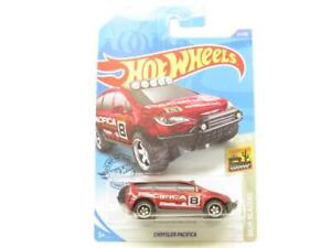 Hot Wheels Chrysler Pacifica Red 51/250 Baja Long Card 1 64 Scale Sealed New
