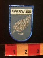 New Zealand FERN Patch 85WT