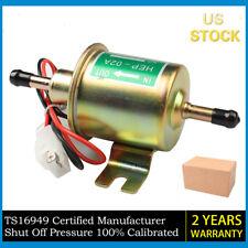 Universal Gas Diesel Inline Low Pressure Electric Fuel Pump 12V 70(L/h) 4-7 PSI