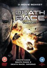 Death Race Trilogy DVD 2008 (uk) Film Action Region 2