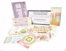 25 Different Banknotes,Mint Uncirculated World Set,No Duplicates
