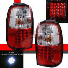 96-02 Toyota 4Runner Sr5 Red Led Tail Lights Lamps w Led Reverse 1 Pair