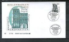 Ungeprüfte Briefmarken aus der BRD (ab 1948) mit Bauwerks-Motiv als Einzelmarke