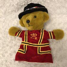 Merrythought Ironbridge Shropshire Uk Puppet Royal Beefeater Guard Uniform Bear