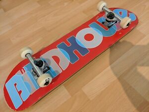 """Birdhouse Stage 1 Opacity Logo 2 Factory Complete Skateboard Red 8"""""""