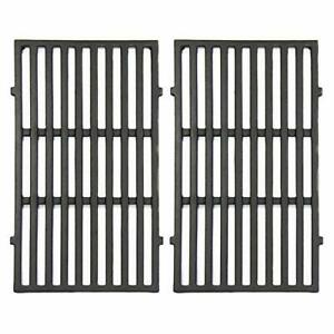 """VICOOL 7637 17.5"""" Grill Cooking Grates Cast Iron Grid Replacement for Weber S..."""