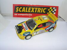 SCALEXTRIC 6168 SEAT CORDOBA E2 WRC  #7  AURIOL-GIRAUDET   MINT UNBOXED
