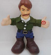 "Jeff Foxworthy Talking Doll Redneck Blue Collar Comedian Jokes Plush 12""  Toy"