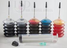 5x30ml HP 92/93 94/95 96/97/98 74/75 60 60XL 74xl 61 61xl 62 62xl refill ink kit