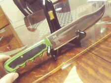 "AMERICAN MADE ""HURRICANE FORGE"" HUNTING / SURVIVAL KNIFE, NICE."