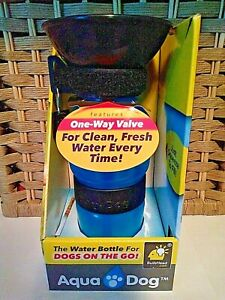 Aqua Dog The Water Bottle For Dogs on the Go BulbHead Z14-5116 NEW