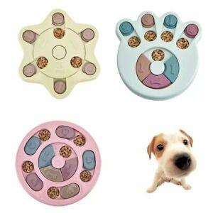 Dog Toys Pet Toy Puzzle IQ Interactive Slow Dispensing Feeding Training Feeder