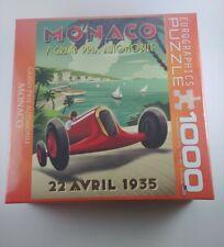 New Eurographics 1935 Monaco Grand Prix Automobile Racing Car 1000 Pcs Puzzle