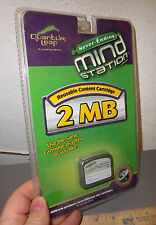 Quantum Leap Never Ending Mind Station 2Mb Reusable Content Cartridge New