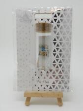 Disney Stitch Weekend Vibes Pin w/ Gift Packaging Keepsake Glass Tube & Cork