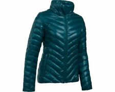 2017 NWT Womens UA Under Armour CGI Uptown Jacket S Small Teal SX164