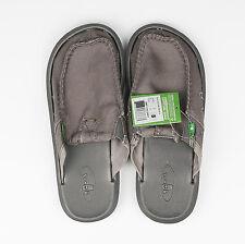 Sanuk Size US8 Men's You Got My Back II Loafer Slip Shoes Gray