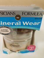 PHYSICIANS FORMULA Mineral Wear Loose Powder, SOFT IVORY 2239, .49 oz READ DESC.